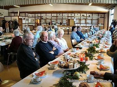 Schmidtheim Seniorennachmittag 2003 im Bürgerhaus
