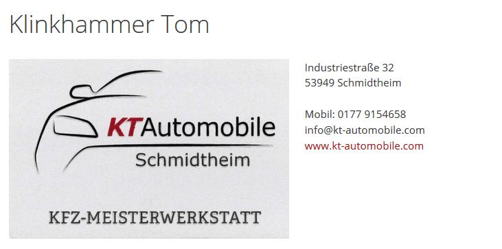 Klinkhammer-Tom-Start