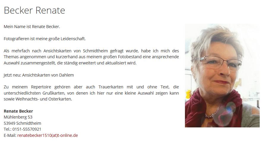 Renate-Becker-Start