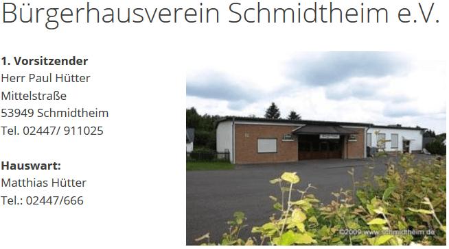buergerhausverein-schmidtheim-start