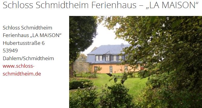 schloss-schmidtheim-ferienhaus-la-maison-start