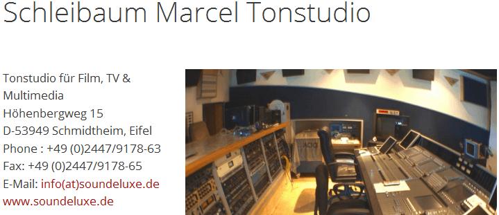 tonstudio-marcel-schleibaum-start